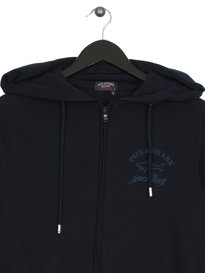 Paul & Shark Zip Up Hoodie Navy