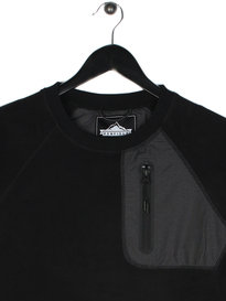Penfield Carney Fleece Sweat Top Black