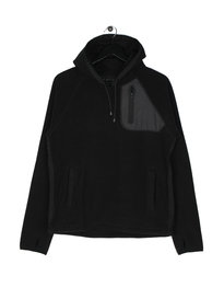 Penfield Skyline Hooded Fleece Black