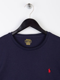 Polo Ralph Lauren Basic Long Sleeve T-Shirt Ink Blue