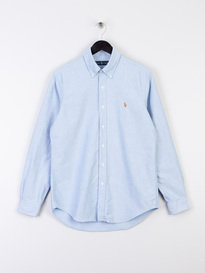 Polo Ralph Lauren BSR Oxford Long Sleeve Shirt Blue