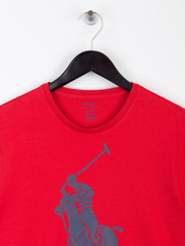 Polo Ralph Lauren Large PP T-Shirt Red