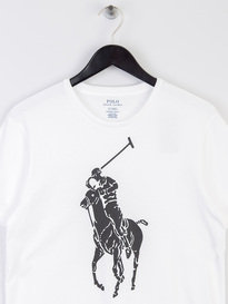 Polo Ralph Lauren Large PP T-Shirt White/Navy