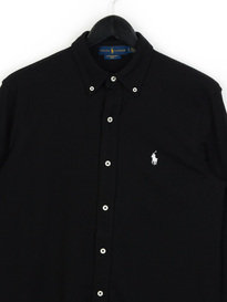 Polo Ralph Lauren Mesh LS Shirt Black