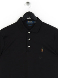 Polo Ralph Lauren Pima Polo Shirt Black