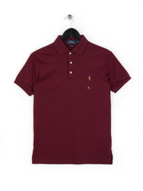 Polo Ralph Lauren Pima Polo Shirt Burgundy