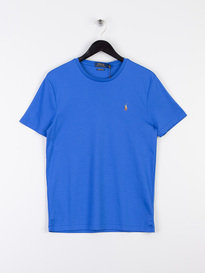 Polo Ralph Lauren Pima Short Sleeve T-Shirt Blue