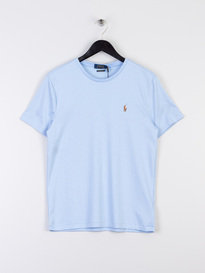 Polo Ralph Lauren Pima Short Sleeve T-Shirt Sky Blue