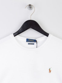 Polo Ralph Lauren Pima Short Sleeve T-Shirt White