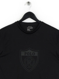 Polo Ralph Lauren Shield Logo T-Shirt Black