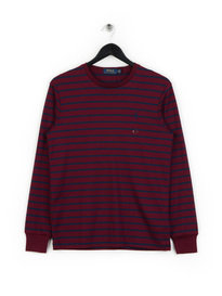 Polo Ralph Lauren Striped Long Sleeve T-Shirt Red