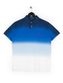 Polo Ralph Lauren Tie Dye Polo Shirt White