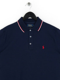 Polo Ralph Lauren Tipped Polo Shirt Blue