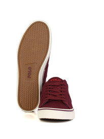 Polo Ralph Lauren Sayer Trainer Burgundy