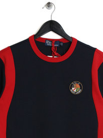 Ralph Lauren Polo Block USA Sweat Navy