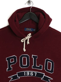 Ralph Lauren Polo Fleece Hoody Burgundy