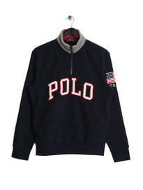 Ralph Lauren Polo Half Zip Polar Fleece Navy