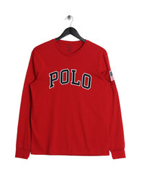 Ralph Lauren Polo LS T-Shirt Red