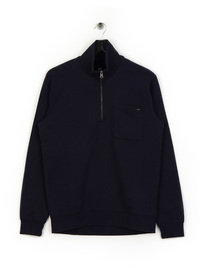 Edwin Popover Sweat Navy