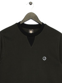 Pretty Green Duxbury Long Sleeve T-Shirt Green