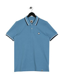 Pretty Green Bassline Polo Shirt Blue
