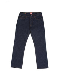Pretty Green Burnage Regular Rinse Wash Blue Denim
