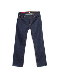 PRETTY GREEN BURNAGE RINSE WASH REG DENIM JEAN