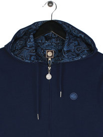 Pretty Green Busby Hoody Navy
