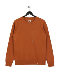 Pretty Green Cavendish Crew Sweat Orange
