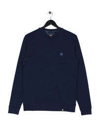 Pretty Green Clements Long Sleeve Crew Sweat Navy