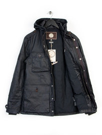 Pretty Green Crester Parka Black