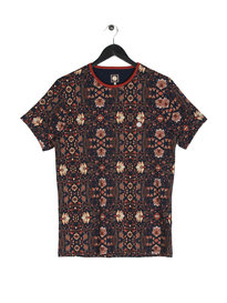 Pretty Green Ebury Short Sleeve T-Shirt Navy