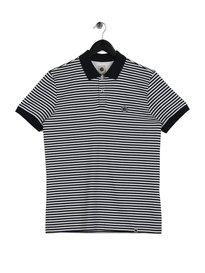 Pretty Green Feeder Polo Navy