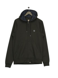 Pretty Green FZ Pique Hoodie Green