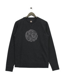 Pretty Green Heyland Logo Sweat Top Grey