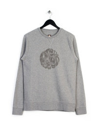 PRETTY GREEN HEYLAND SWEAT TOP GREY