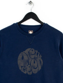 Pretty Green Heyland Sweat Top Navy