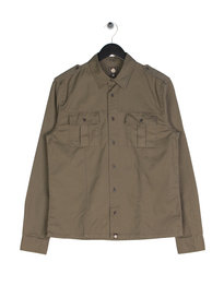 Pretty Green Marlinford Overshirt Green
