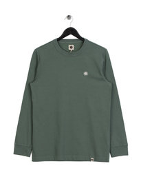 Pretty Green Marsden Long Sleeve T-Shirt Green