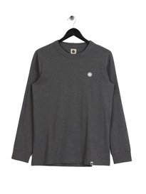 Pretty Green Marsden Long Sleeve T-Shirt Grey