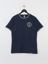 PRETTY GREEN MENS BALHAM EMBLEM CREW NAVY