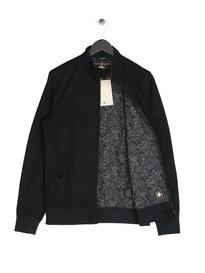 Pretty Green Newton Harrington Jacket Black