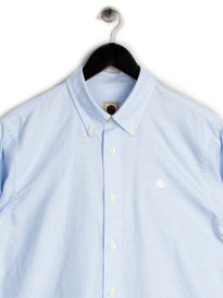 Pretty Green Mens Oldbury Shirt Blue