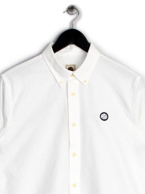 Pretty Green Mens Oldbury Shirt White