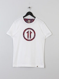 PRETTY GREEN MENS RAWDON TEE WHITE