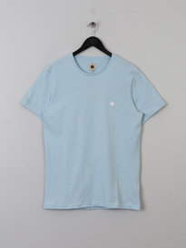 PRETTY GREEN MENS SS CREW NECK BLUE
