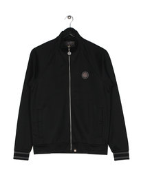 Pretty Green Milner Track Top Black