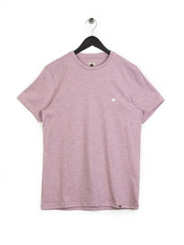 Pretty Green Mystic Marl T-Shirt Pink