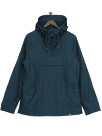 Pretty Green OH Parka Jacket Navy/ Green
