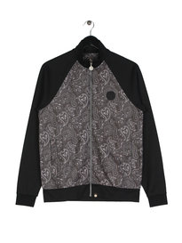 Pretty Green Paisley Track Top Black